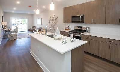 Kitchen, The Enclave at Dewy Meadows, 0