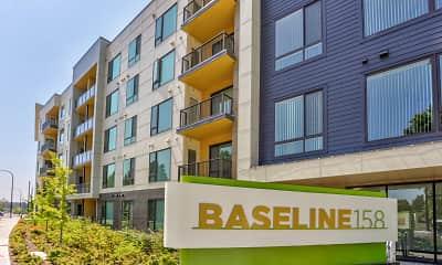 Community Signage, Baseline 158, 2