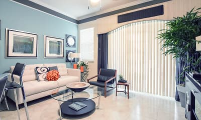 Living Room, The Palms of Doral Apartments, 1