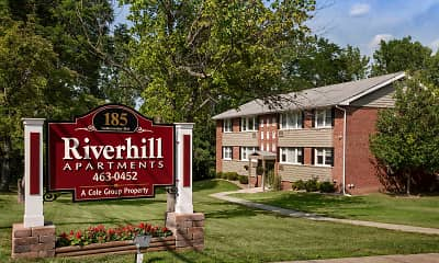 Community Signage, Riverhill Apartments, 1
