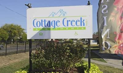 Community Signage, Cottage Creek, 2