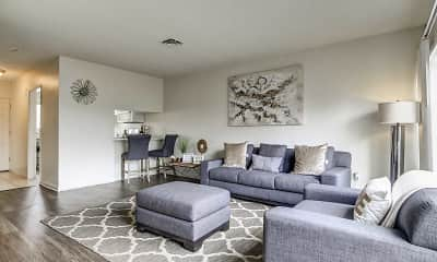 Living Room, Loma Palisades Apartments, 0