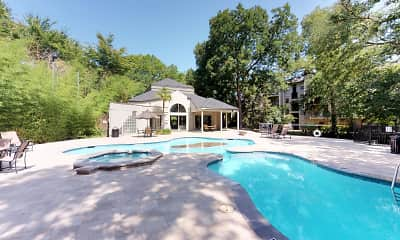 Pool, Oaks White Rock, 1