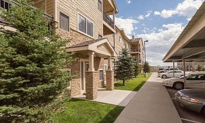 Building, Windridge Apartments - WY, 1