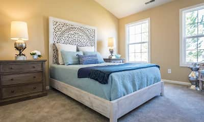 Bedroom, Mansfield Village Townhomes, 1