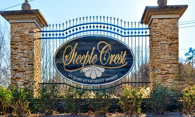 Community Signage, Steeple Crest Luxury Apartments, 2