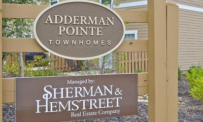 Community Signage, Adderman Pointe, 1