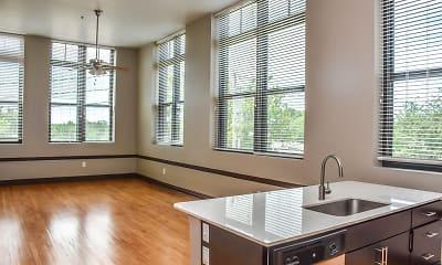 Kitchen, West Hill Lofts, 1