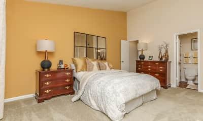 Bedroom, The Columns at Lake Ridge, 2