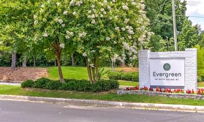 Community Signage, Evergreen Auburn, 2