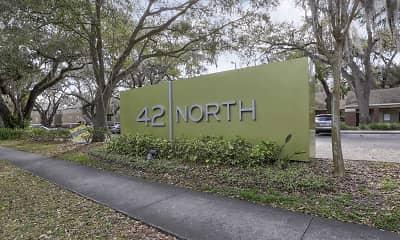 Community Signage, 42 North - Student Housing, 2