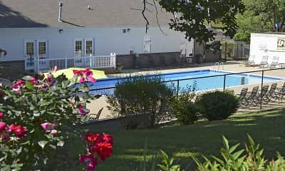 Pool, Briarcliff At West Hills Apartments of Knoxville, 1