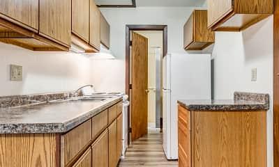 Kitchen, Widlund Building, 1