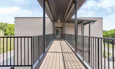 Patio / Deck, Galloway Creek Lofts, 1