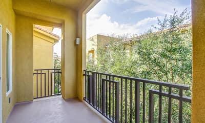 Patio / Deck, Tesoro Senior Apartments, 2