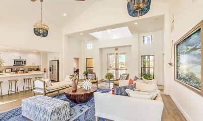 Living Room, The Overlook at Bernardo Heights, 0