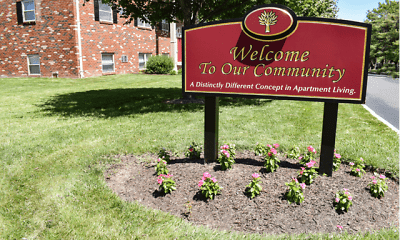 Community Signage, Newport Village Apartments, 1