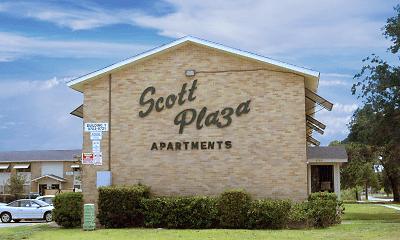 Community Signage, Scott Plaza, 0