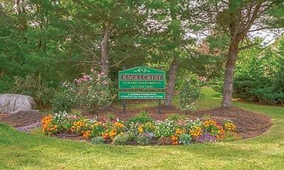 Community Signage, Knollcrest Village, 0
