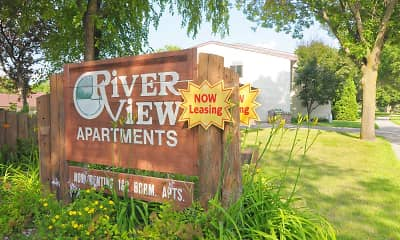 Community Signage, Riverview Apartments, 2