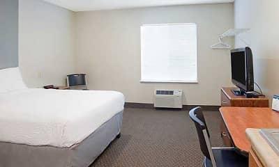 Bedroom, WoodSprings Suites Dickinson, 1