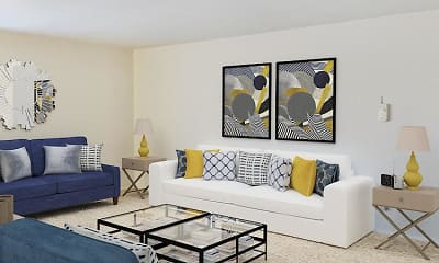 Living Room, The Oaks On Lincoln, 0