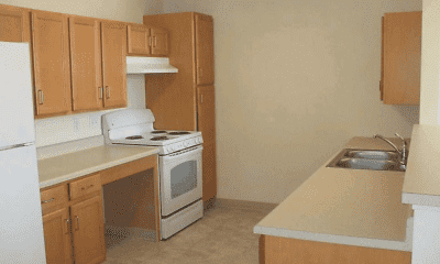 Kitchen, MeadowView At Clifton Park Apartments, 1