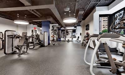Fitness Weight Room, Frontier, 2