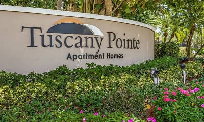 Community Signage, Tuscany Pointe at Somerset Apartment Homes, 2