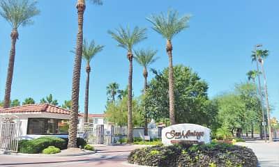 Community Signage, San Montego Luxury Apartments, 0