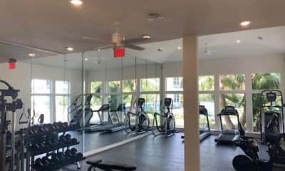 Fitness Weight Room, Blu on the Boulevard, 2