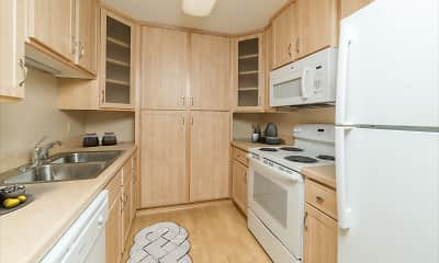 Kitchen, Forest Place Apartments, 1