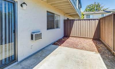 Patio / Deck, Moorpark Garden Apartments, 2