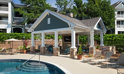 Pool, Bexley Crossing At Providence Luxury Apartments, 1