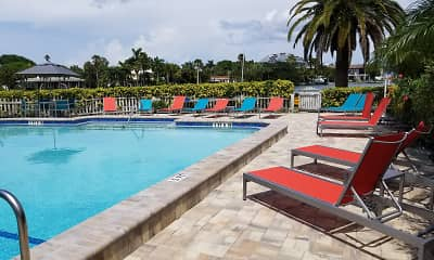Pool, Sand Cove Rental Apartments, 1