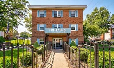 Building, Manor Village Apartments, 1