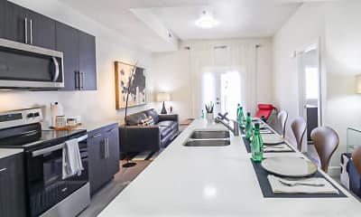 Kitchen, Lehi Tech Apartments, 1