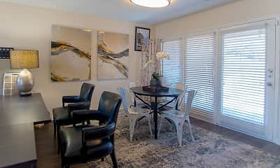 Dining Room, Park Place Townhomes, 0