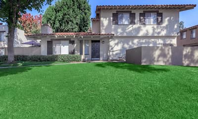 back of property with an expansive lawn, Carlyle Square Apartment Homes, 0