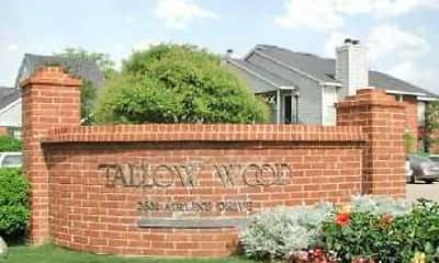 Community Signage, Tallow Wood Apartments, 1