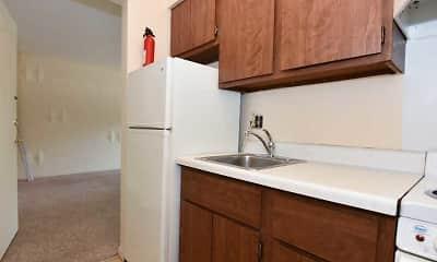 Kitchen, Burnham Rentals- Third & Dunn, 2