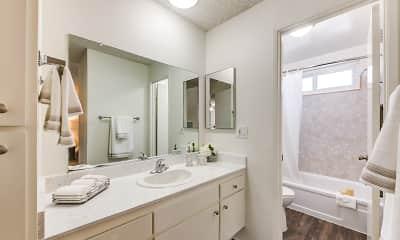Bathroom, The Newporter Apartments, 1