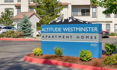 Community Signage, Altitude Westminster Apartments, 2