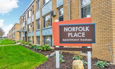 Community Signage, Norfolk Place, 1