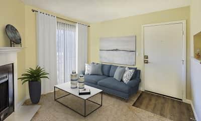 Living Room, Bella Terra At City Center, 2