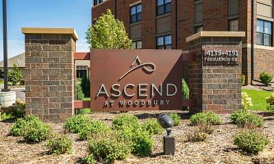 Community Signage, Ascend at Woodbury, 2