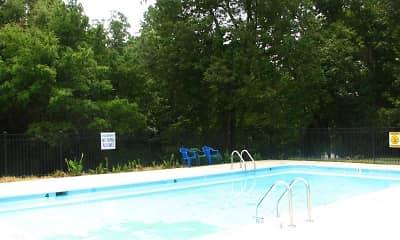 Pool, Oakhill Apartments, 1