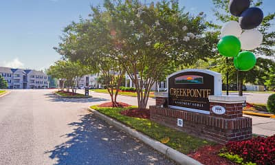 Community Signage, Creekpointe Apartment Homes, 2