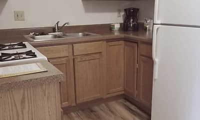 Kitchen, Greenbrook Apartments, 1