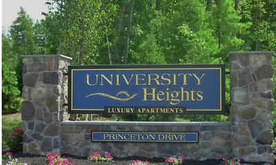 Community Signage, University Heights Apartments, 0